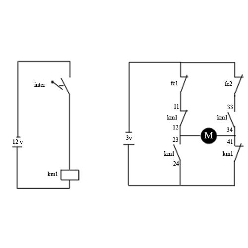 transcrire shema  u0026quot electrique u0026quot  en  u0026quot electronique u0026quot